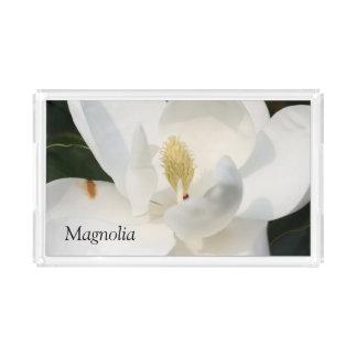 マグノリアのアクリルの皿 アクリルトレー