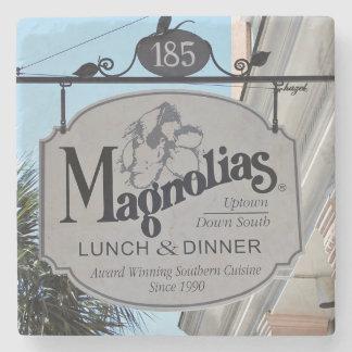 マグノリアのレストランチャールストンのSC.のコースター ストーンコースター