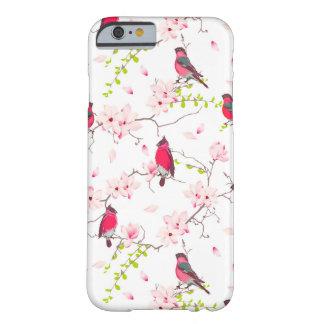 マグノリアの木の赤いbullfinches barely there iPhone 6 ケース
