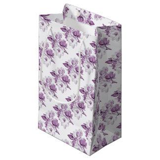 マグノリアの紫色の夢 スモールペーパーバッグ