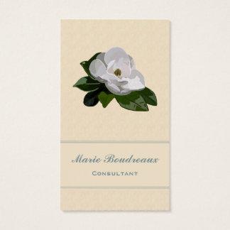 マグノリアの花ビジネス 名刺