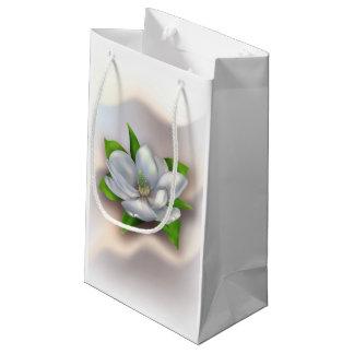 マグノリアの花 スモールペーパーバッグ