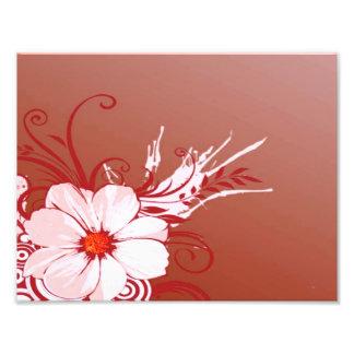 マグノリアの花 フォトプリント