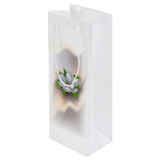 マグノリアの花 ワインギフトバッグ