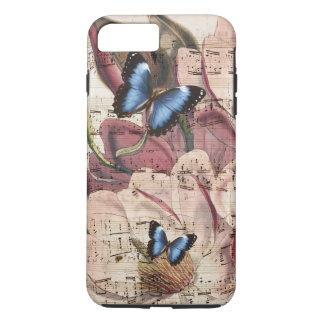 マグノリアの蝶 iPhone 8 PLUS/7 PLUSケース