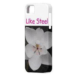 マグノリアの電話カバー iPhone SE/5/5s ケース