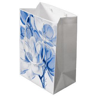 マグノリアの青 ミディアムペーパーバッグ