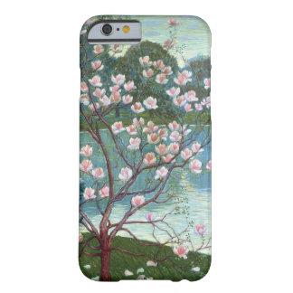 マグノリア(キャンバスの油) BARELY THERE iPhone 6 ケース