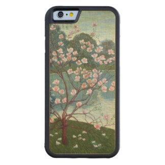 マグノリア(キャンバスの油) CarvedメープルiPhone 6バンパーケース