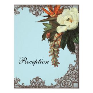 マグノリアnの極楽鳥- RSVPの応答カード カード