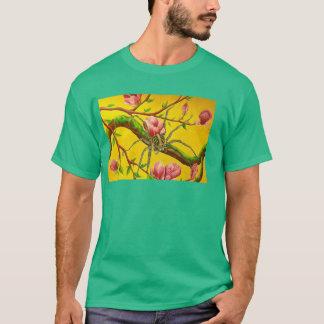 マグノリアWOLF-SPIDERケリーの緑のTシャツ Tシャツ