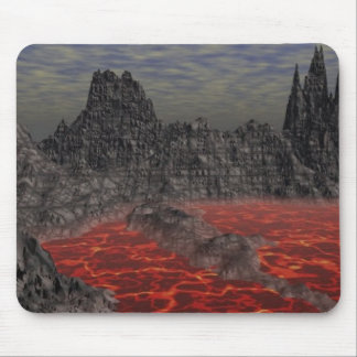 マグマの火山 マウスパッド