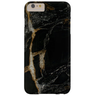 """""""マグマ金ゴールド""""の模造のな花こう岩のiPhone 6のプラスの場合 Barely There iPhone 6 Plus ケース"""