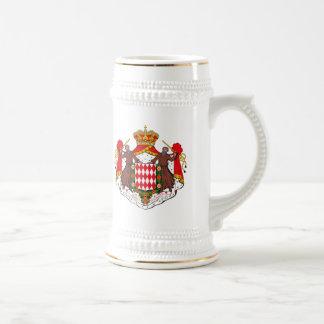 マグモナコの紋章付き外衣 ビールジョッキ