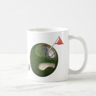 マグ の小型ゴルフ惑星 コーヒーマグカップ