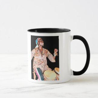 マグ、アフリカのドラマー マグカップ