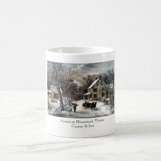 マグ-アメリカの家屋敷: 冬 コーヒーマグカップ