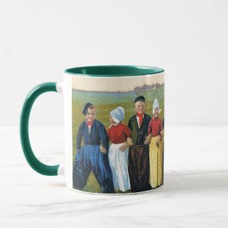 マグ-オランダ家族-兄弟の姉妹の子供 マグカップ