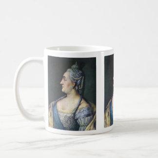 マグ: キャサリンII素晴らしいの コーヒーマグカップ