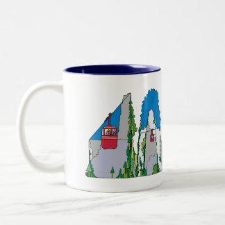 マグ|ジャクソンホール、WY (JAC) ツートーンマグカップ