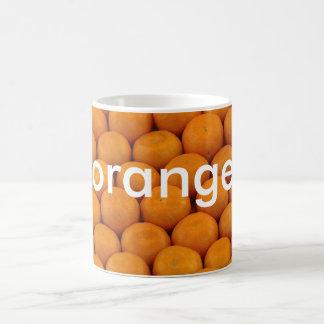 マグ: ドイツのオレンジを着色します(オレンジ) コーヒーマグカップ