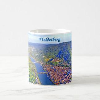 マグ: ハイデルベルクのロマンチックな城 コーヒーマグカップ
