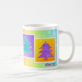 マグ-ポップアートのクリスマスツリー コーヒーマグカップ