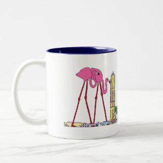 マグ|マイアミ、FL (MIA) ツートーンマグカップ