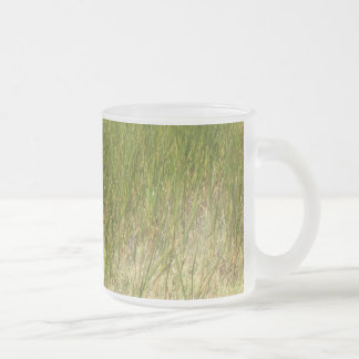 マグ-ムギの草か。 フロストグラスマグカップ