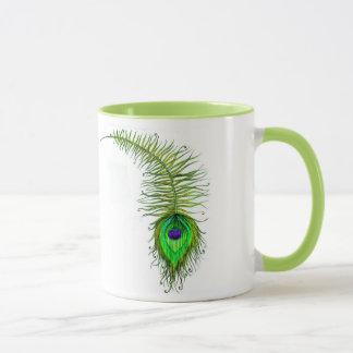 マグ、孔雀 マグカップ