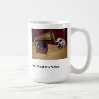 マグ-彼のマスターの声 コーヒーマグカップ