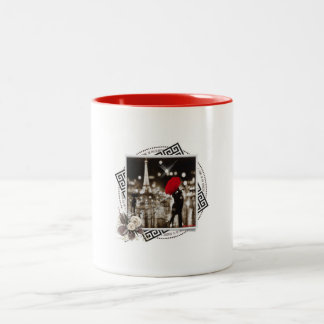 マグ「愛」はテーマどこでもあります ツートーンマグカップ