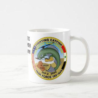 マグ、戦いのナマズ コーヒーマグカップ
