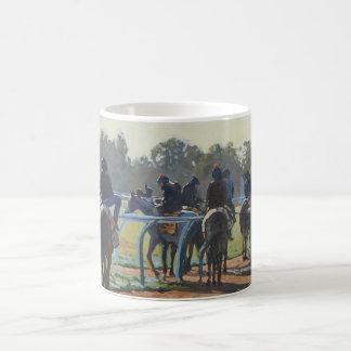 マグ-早朝、Newmarket コーヒーマグカップ