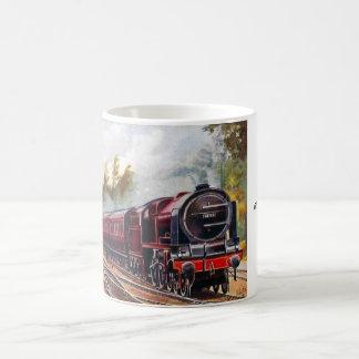マグ-明白なマンチェスターへのLMSグラスゴー コーヒーマグカップ