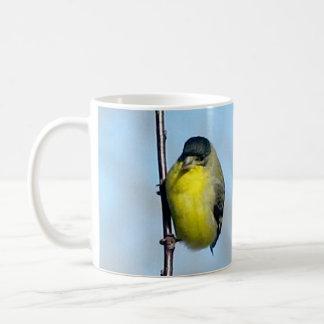 マグ-朝のフィンチ コーヒーマグカップ