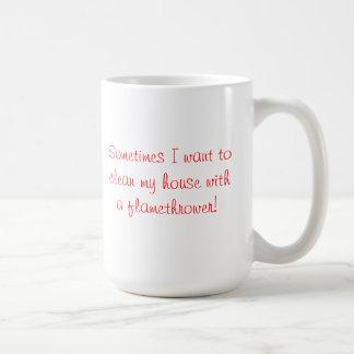 マグ: 火炎放射器 コーヒーマグカップ