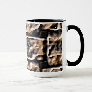 マグ。 火煉瓦効果 マグカップ