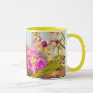 マグ: 砂漠ヤナギの花#6 (信号器) マグカップ