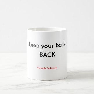 マグ-背部背部 コーヒーマグカップ