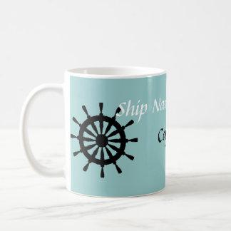 マグ-船の大尉 コーヒーマグカップ