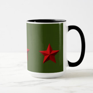 マグ-赤い星 マグカップ