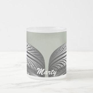 マグ-踏面の名前 フロストグラスマグカップ