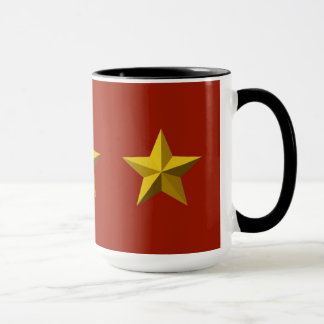 マグ-金ゴールドの星 マグカップ