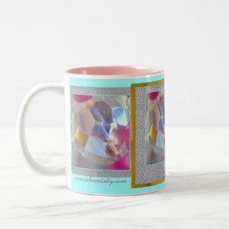 マグ、飲料-豆電球 ツートーンマグカップ