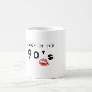 マグ- 90年代に生まれて下さい コーヒーマグカップ
