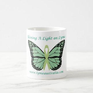 マグ: Lymeでライトを照らすこと コーヒーマグカップ