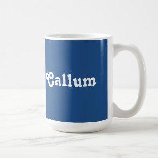 マグCallum コーヒーマグカップ