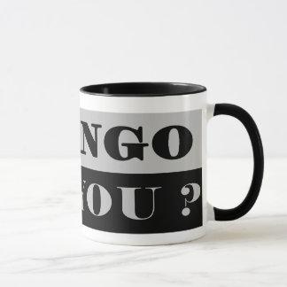 マグIのタンゴの灰色 マグカップ