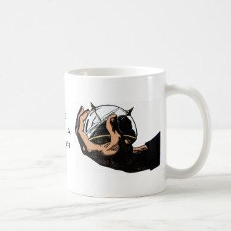 マグIIの頭脳 コーヒーマグカップ
